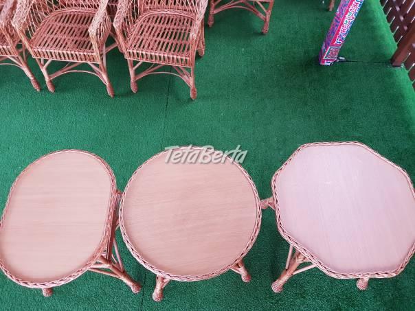 Prútene sedenie, foto 1 Dom a záhrada, Záhradný nábytok, dekorácie | Tetaberta.sk - bazár, inzercia zadarmo