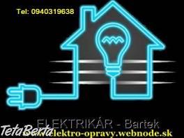 Elektrikár Bratislava a okolie , Obchod a služby, Stroje a zariadenia  | Tetaberta.sk - bazár, inzercia zadarmo