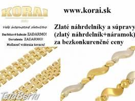 Zlaté náhrdelníky a súpravy KORAI
