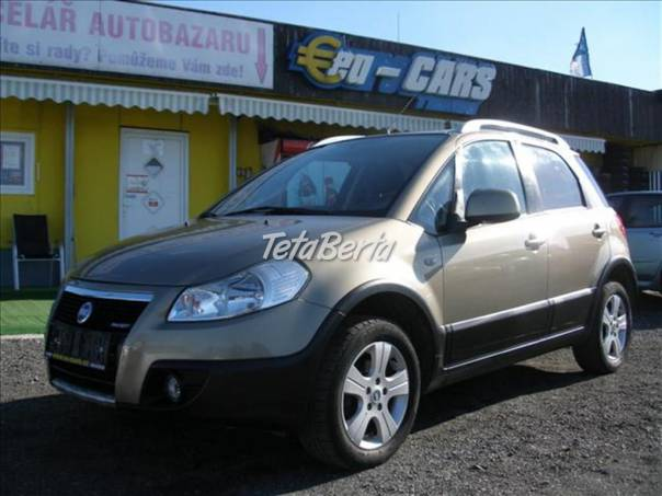 Fiat Sedici 1.9   MULTIJET,4X4,DIGIKLIMA, foto 1 Auto-moto, Automobily | Tetaberta.sk - bazár, inzercia zadarmo
