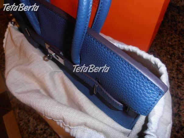 HERMES Togo Birkin 35cm Bleu de Prusse MODRÁ TOP  de2484ddf25