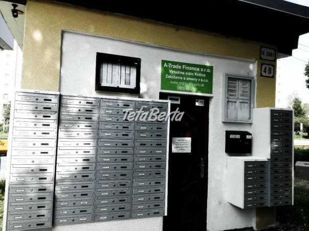 Virtuálne sídlo, foto 1 Reality, Kancelárie a obch. priestory | Tetaberta.sk - bazár, inzercia zadarmo