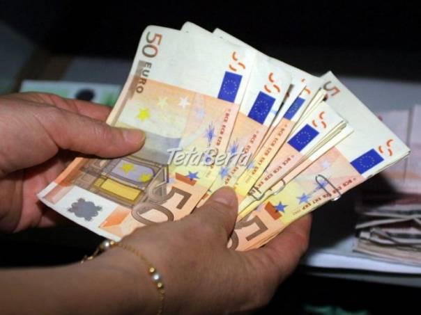 Súkromné úvery od 2.000 eur, foto 1 Obchod a služby, Financie | Tetaberta.sk - bazár, inzercia zadarmo