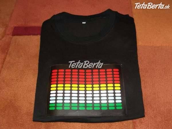 fdef2f7762b8 Nová cena-led tričko s ekvalizérom
