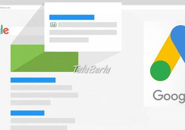 Google reklamy na mieru, foto 1 Obchod a služby, Reklama | Tetaberta.sk - bazár, inzercia zadarmo