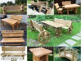 Drevený záhradný nábytok, detské domy - výrobca Poľsko , Dom a záhrada, Záhradný nábytok, dekorácie  | Tetaberta.sk - bazár, inzercia zadarmo