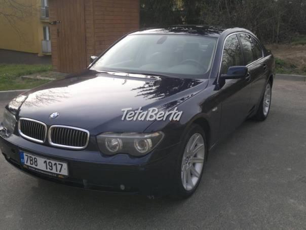BMW Řada 7 730d E65, foto 1 Auto-moto, Automobily | Tetaberta.sk - bazár, inzercia zadarmo