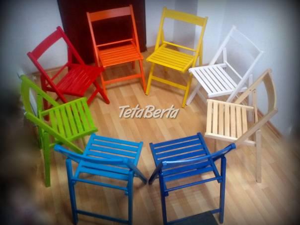 d79a3109585b Drevené skladacie stoličky bukové