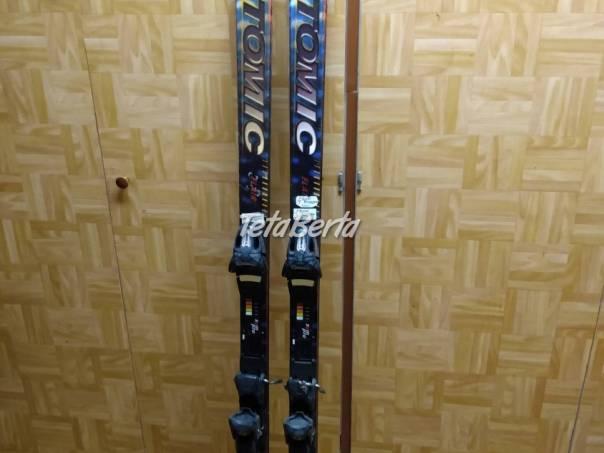 Predám lyže Atomic s viazaním. , foto 1 Hobby, voľný čas, Šport a cestovanie | Tetaberta.sk - bazár, inzercia zadarmo