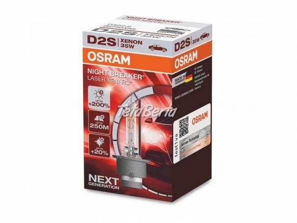 D2S Osram Night Breaker LASER Xenarc,+200% najsilnejšia výbojka od OSRAM, foto 1 Náhradné diely a príslušenstvo, Ostatné | Tetaberta.sk - bazár, inzercia zadarmo