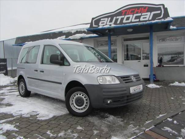 Volkswagen Caddy 2.0 CNG, ESP,  serviska, foto 1 Auto-moto, Automobily | Tetaberta.sk - bazár, inzercia zadarmo