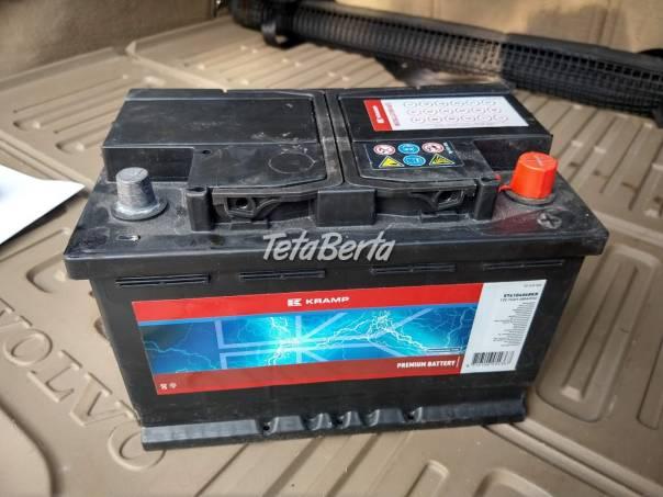 Predám autobatériu 12V 74Ah 680 A, foto 1 Náhradné diely a príslušenstvo, Ostatné   Tetaberta.sk - bazár, inzercia zadarmo