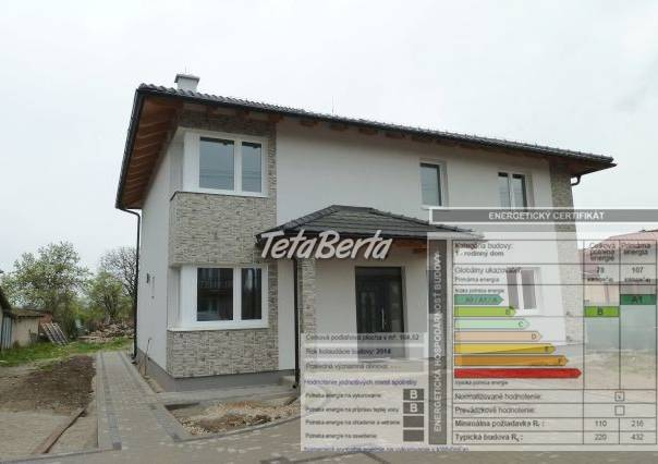 Energetický certifikát ku kolaudácií, foto 1 Reality, Domy | Tetaberta.sk - bazár, inzercia zadarmo
