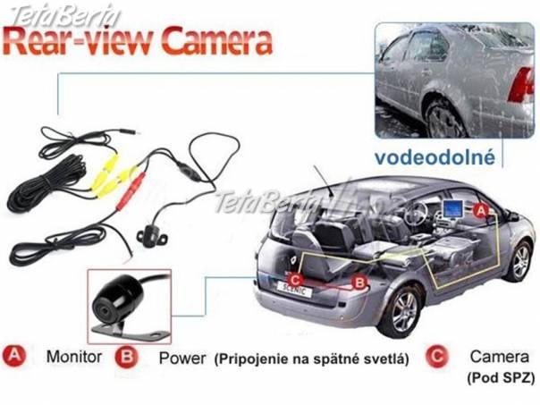 Cúvacia Kamera + monitor do auta, foto 1 Auto-moto, Náhradné diely a príslušenstvo | Tetaberta.sk - bazár, inzercia zadarmo