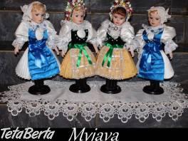 Predám nové Slovenské krojované bábiky , Hobby, voľný čas, Umenie a zbierky  | Tetaberta.sk - bazár, inzercia zadarmo