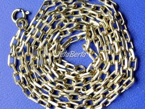 Ručne pilovaná zlatá reťaz e2a7c7215a7