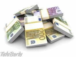 Finančná pomoc akejkoľvek vážnej osobe , Obchod a služby, Potreby pre obchodníkov  | Tetaberta.sk - bazár, inzercia zadarmo