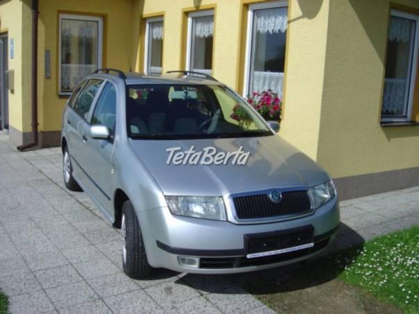 Škoda Fabia 1.9TDI 74Kw combi, foto 1 Auto-moto, Automobily | Tetaberta.sk - bazár, inzercia zadarmo