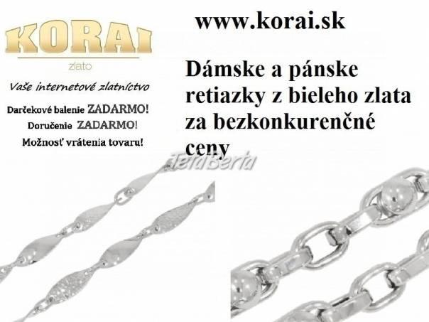Retiazky z bieleho zlata KORAI, foto 1 Móda, krása a zdravie, Hodinky a šperky | Tetaberta.sk - bazár, inzercia zadarmo