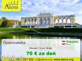 Práca pre opatrovateľov a opatrovateľky , Práca, Zdravotníctvo a farmácia    Tetaberta.sk - bazár, inzercia zadarmo