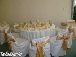 Výzdoba svadobných sál a iných spoločenských akcií