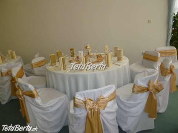 Výzdoba svadobných sál a iných spoločenských akcií, foto 1 Móda, krása a zdravie, Svadby, plesy, oslavy | Tetaberta.sk - bazár, inzercia zadarmo