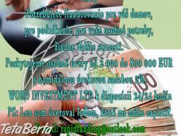 finančnej pomoci , Obchod a služby, Reklama  | Tetaberta.sk - bazár, inzercia zadarmo
