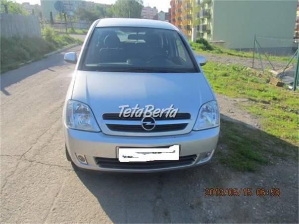 Opel Meriva 1,6 16V 74 KW TOP, KLIMA, ALU KOLA, foto 1 Auto-moto, Automobily | Tetaberta.sk - bazár, inzercia zadarmo