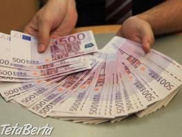 Pôžicka od 1000 do 800000 eur