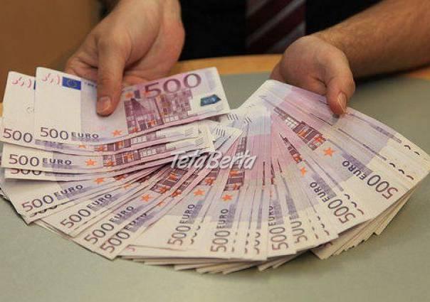 Pôžicka od 1000 do 800000 eur, foto 1 Obchod a služby, Preklady, tlmočenie a korektúry | Tetaberta.sk - bazár, inzercia zadarmo
