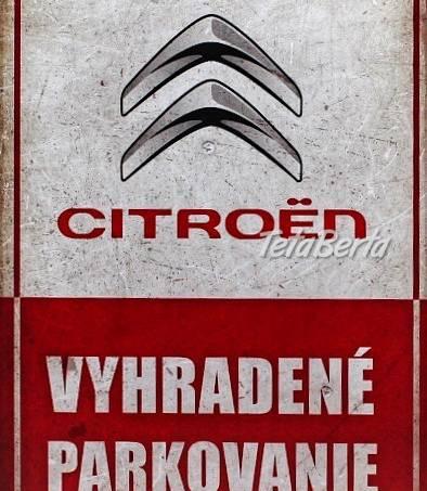 Vyhradené parkovanie - CITROEN, foto 1 Auto-moto, Automobily | Tetaberta.sk - bazár, inzercia zadarmo