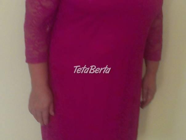 Krajkové ružové šaty pre moletky v.44/46, foto 1 Móda, krása a zdravie, Oblečenie | Tetaberta.sk - bazár, inzercia zadarmo