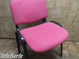 Predám červenú stoličku. , Dom a záhrada, Stoly, pulty a stoličky  | Tetaberta.sk - bazár, inzercia zadarmo