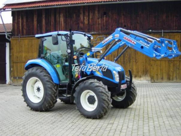 traktor new holland T4.55, foto 1 Poľnohospodárske a stavebné stroje, Poľnohospodárské stroje | Tetaberta.sk - bazár, inzercia zadarmo