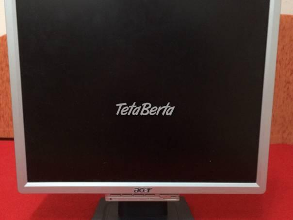Predám LCD monitor Acer , foto 1 Elektro, Tlačiarne, skenery, monitory | Tetaberta.sk - bazár, inzercia zadarmo