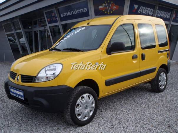 Renault Kangoo 1,6i 2 místné 4x4, foto 1 Auto-moto, Automobily | Tetaberta.sk - bazár, inzercia zadarmo