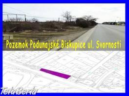 Predaj - pozemok Podunajské Biskupice, 1.217 m2, ul. Svornosti , Reality, Pozemky    Tetaberta.sk - bazár, inzercia zadarmo