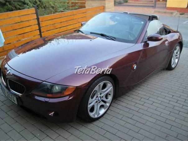 BMW Z4 2,5i 141kW, perfektní stav, foto 1 Auto-moto, Automobily | Tetaberta.sk - bazár, inzercia zadarmo