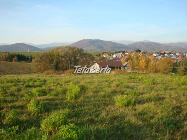 Slnečný pozemok na stavbu RD v Brezne na Starom Mazorníku, foto 1 Reality, Pozemky | Tetaberta.sk - bazár, inzercia zadarmo