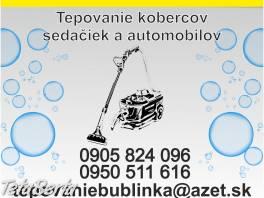 Tepujem sedačky,koberce v Spišskej Novej Vsi  , Obchod a služby, Ostatné  | Tetaberta.sk - bazár, inzercia zadarmo