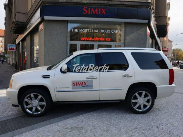 Cadillac Escalade Luxury AWD, foto 1 Auto-moto, Automobily | Tetaberta.sk - bazár, inzercia zadarmo