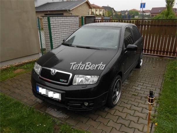 Škoda Fabia 1.9 TDI RS 121 kw , serviska ,TOP STAV !!, foto 1 Auto-moto, Automobily | Tetaberta.sk - bazár, inzercia zadarmo
