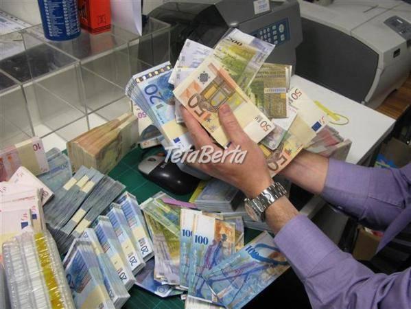 Ponúkame pôžicku všetkým, ktorí to potrebujú, foto 1 Pre deti, Detské oblečenie | Tetaberta.sk - bazár, inzercia zadarmo
