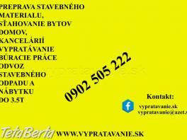 Vypratávanie butov Bratislava , Dom a záhrada, Upratovanie  | Tetaberta.sk - bazár, inzercia zadarmo