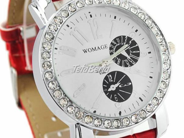 73a9f6a888 Damske cervene naramkove hodinky