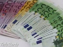 ponúkajú pôžičky medzi jednotlivcami , Práca, Ostatné  | Tetaberta.sk - bazár, inzercia zadarmo