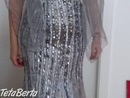 Luxusné krásne, dlhé spoločenské šaty vhodné na stužkovú, ples alebo inú slávnostnú príležitosť. Šaty sú v. 42.  , Móda, krása a zdravie, Oblečenie    Tetaberta.sk - bazár, inzercia zadarmo