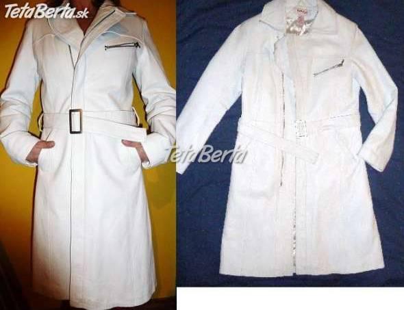 b1cb2db61 Biely kožený kabát Kenvelo, foto 1 Móda, krása a zdravie, Oblečenie |  Tetaberta
