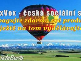 Nová česka sociálna sieť so zárobkom za aktivitu.