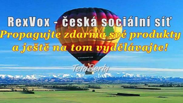 Nová česka sociálna sieť so zárobkom za aktivitu. , foto 1 Práca, Brigáda   Tetaberta.sk - bazár, inzercia zadarmo